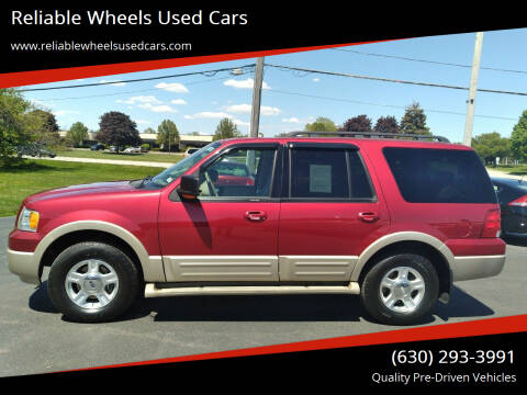 2006 Ford Expedition for sale at Reliable Wheels Used Cars in West Chicago IL