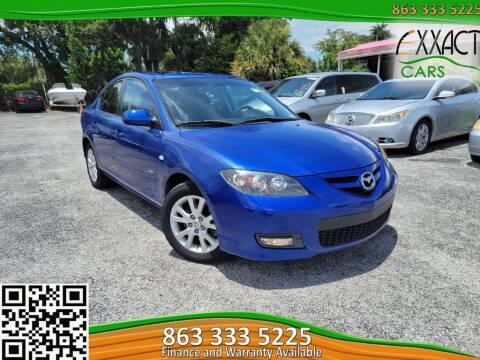 2007 Mazda MAZDA3 for sale at Exxact Cars in Lakeland FL