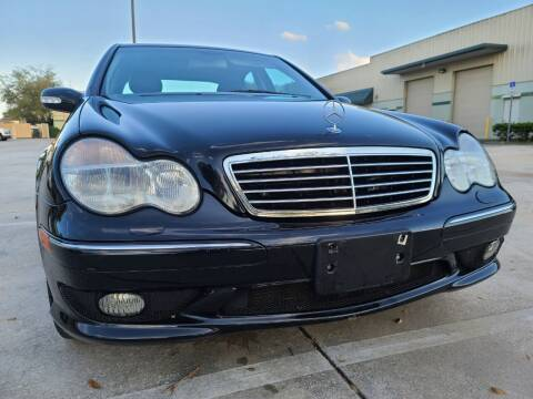 2002 Mercedes-Benz C-Class for sale at Monaco Motor Group in Orlando FL