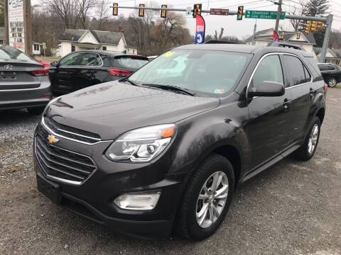 2016 Chevrolet Equinox for sale at THE AUTOMOTIVE CONNECTION in Atkins VA