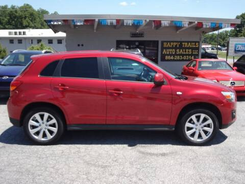 2015 Mitsubishi Outlander Sport for sale at HAPPY TRAILS AUTO SALES LLC in Taylors SC