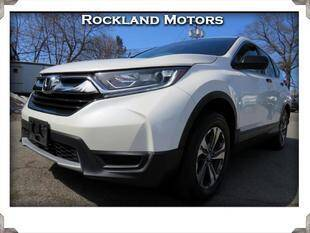 2017 Honda CR-V for sale at Rockland Automall - Rockland Motors in West Nyack NY
