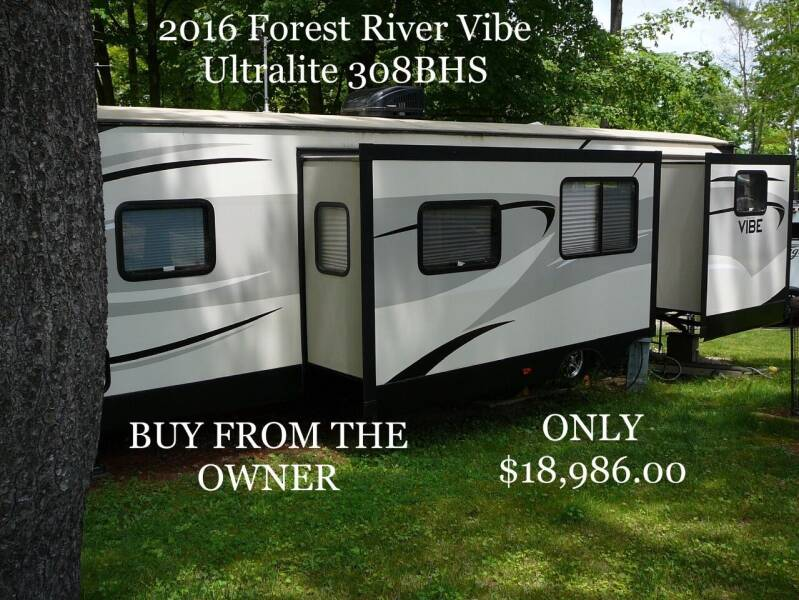 2016 Forest River Vibe UltraLite for sale at RV Wheelator in North America AZ