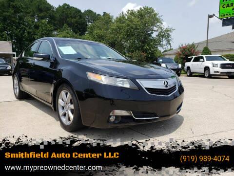 2012 Acura TL for sale at Smithfield Auto Center LLC in Smithfield NC