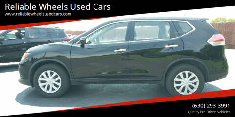 2015 Nissan Rogue for sale at Reliable Wheels Used Cars in West Chicago IL