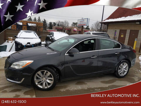 2014 Buick Regal for sale at Berkley Automotive Inc. in Berkley MI