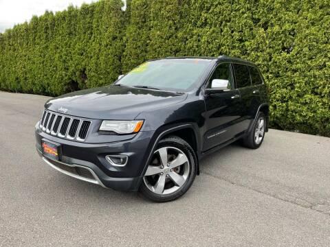 2015 Jeep Grand Cherokee for sale at Yaktown Motors in Union Gap WA