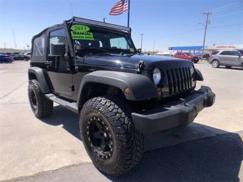 2013 Jeep Wrangler for sale at Show Me Auto Mall in Harrisonville MO