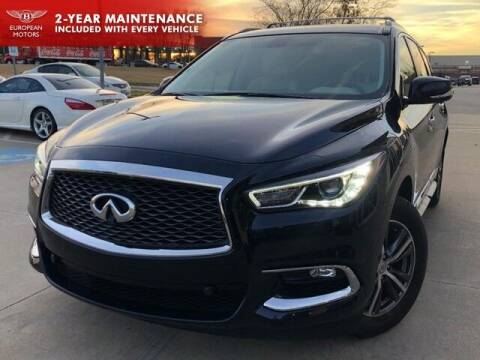 2017 Infiniti QX60 for sale at European Motors Inc in Plano TX