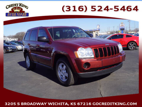 2007 Jeep Grand Cherokee for sale at Credit King Auto Sales in Wichita KS