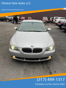 2005 BMW 5 Series for sale at Choice One Auto LLC in Beech Grove IN