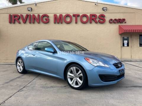 2012 Hyundai Genesis Coupe for sale at Irving Motors Corp in San Antonio TX