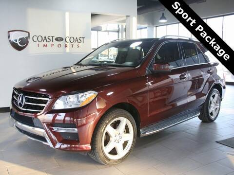 2015 Mercedes-Benz M-Class for sale at Coast to Coast Imports in Fishers IN