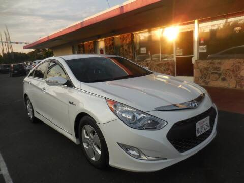 2012 Hyundai Sonata Hybrid for sale at Auto 4 Less in Fremont CA