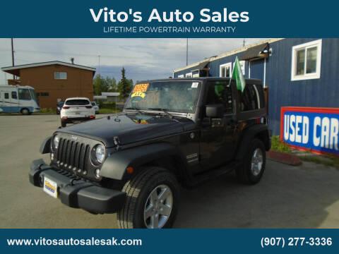 2014 Jeep Wrangler for sale at Vito's Auto Sales in Anchorage AK