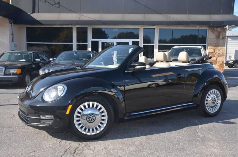 2014 Volkswagen Beetle Convertible for sale at Amyn Motors Inc. in Tucker GA
