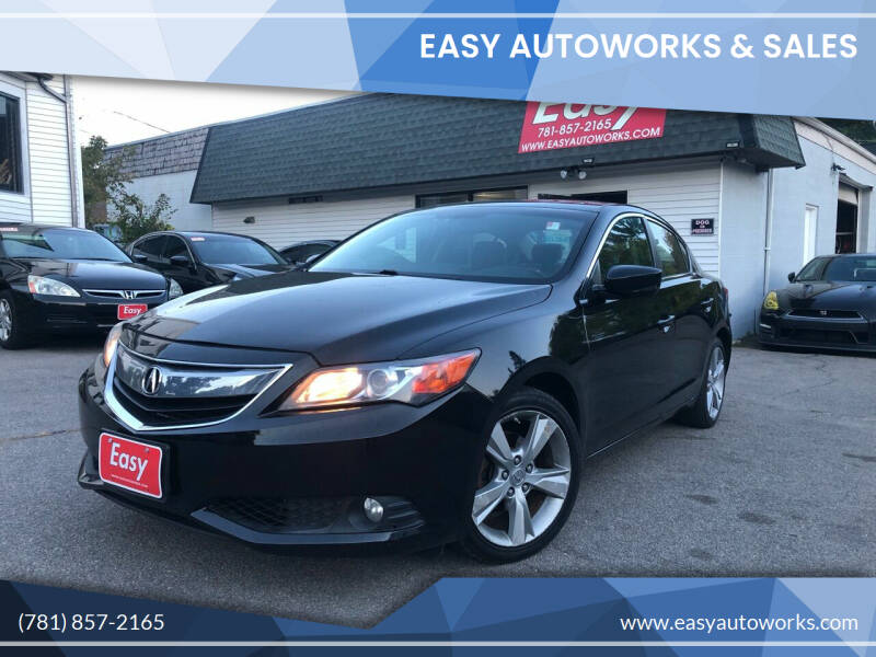 2013 Acura ILX for sale at Easy Autoworks & Sales in Whitman MA