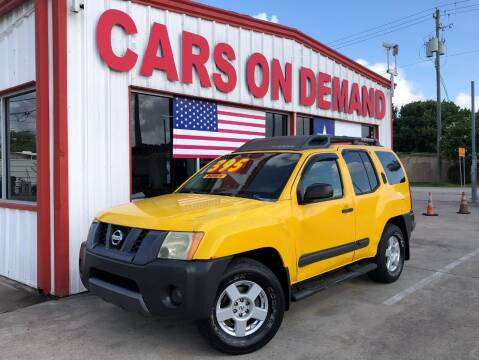 2006 Nissan Xterra for sale at Cars On Demand 3 in Pasadena TX