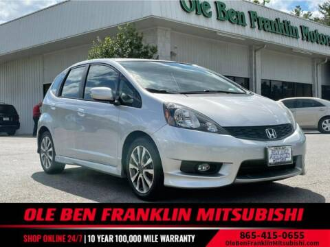 2013 Honda Fit for sale at Ole Ben Franklin Mitsbishi in Oak Ridge TN