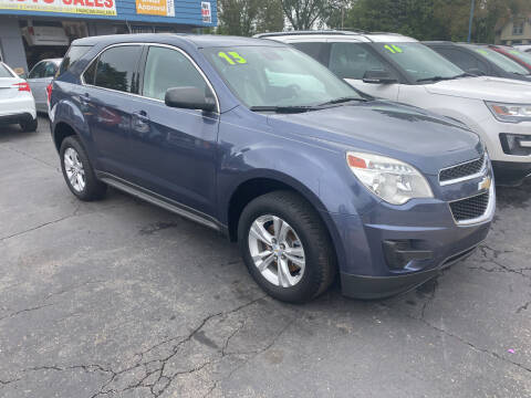 2013 Chevrolet Equinox for sale at Lee's Auto Sales in Garden City MI