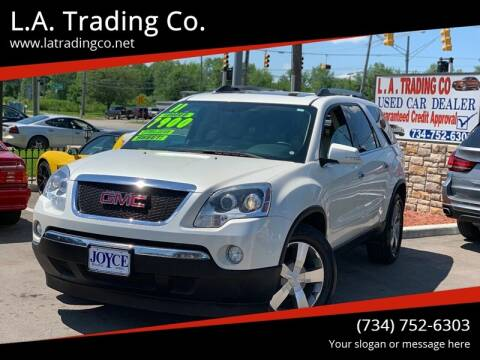 2011 GMC Acadia for sale at L.A. Trading Co. in Woodhaven MI