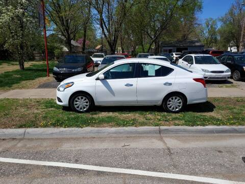 2018 Nissan Versa for sale at D & D Auto Sales in Topeka KS