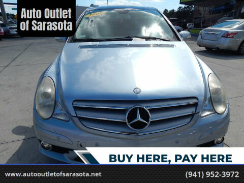 2008 Mercedes-Benz R-Class for sale at Auto Outlet of Sarasota in Sarasota FL