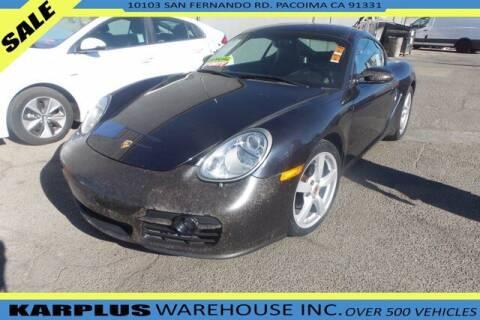 2007 Porsche Cayman for sale at Karplus Warehouse in Pacoima CA