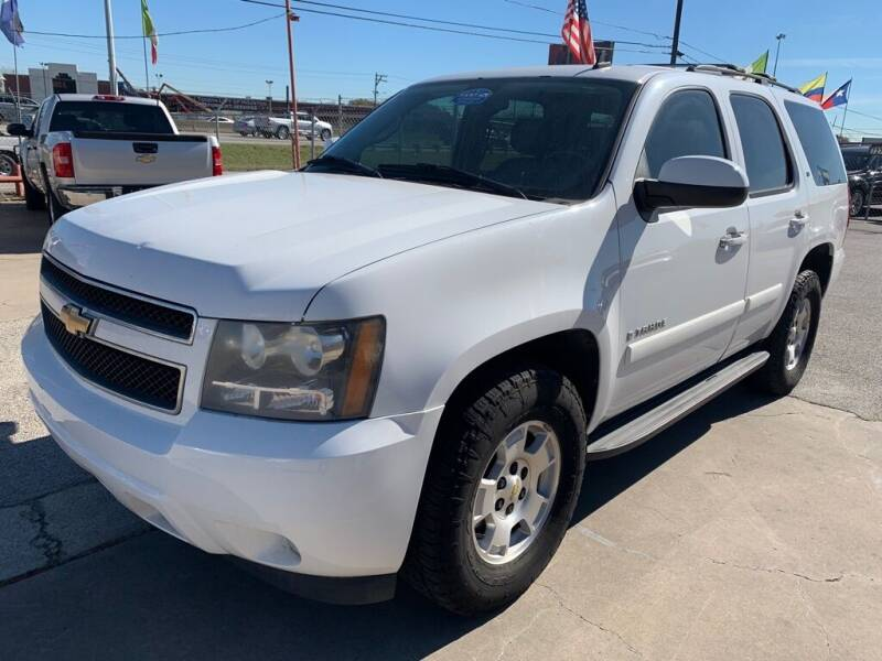 2008 Chevrolet Tahoe for sale at JAVY AUTO SALES in Houston TX