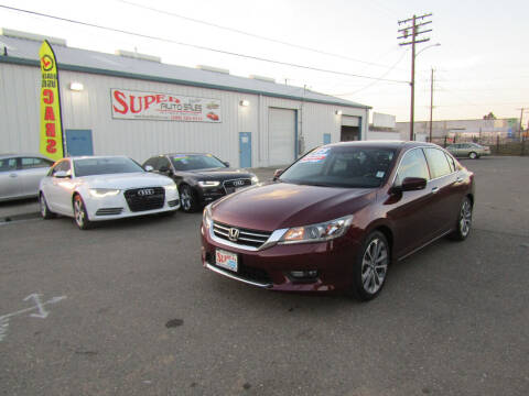 2015 Honda Accord for sale at SUPER AUTO SALES STOCKTON in Stockton CA