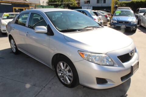 2010 Toyota Corolla for sale at Good Vibes Auto Sales in North Hollywood CA
