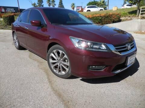 2013 Honda Accord for sale at ARAX AUTO SALES in Tujunga CA