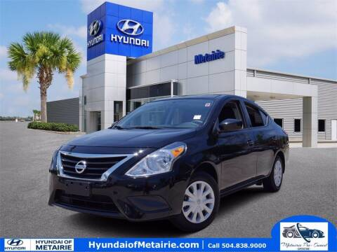 2019 Nissan Versa for sale at Metairie Preowned Superstore in Metairie LA