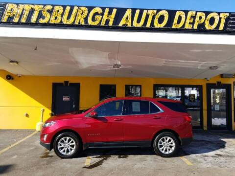 2018 Chevrolet Equinox for sale at Pittsburgh Auto Depot in Pittsburgh PA
