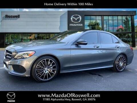 2017 Mercedes-Benz C-Class for sale at Mazda Of Roswell in Roswell GA