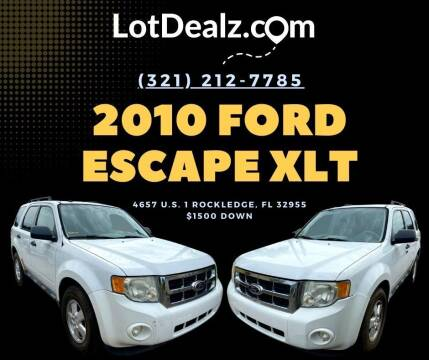 2010 Ford Escape for sale at ROCKLEDGE in Rockledge FL