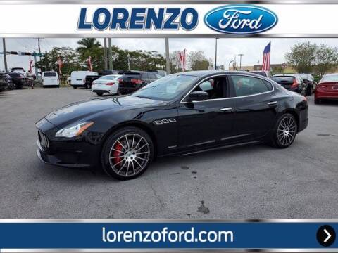 2017 Maserati Quattroporte for sale at Lorenzo Ford in Homestead FL