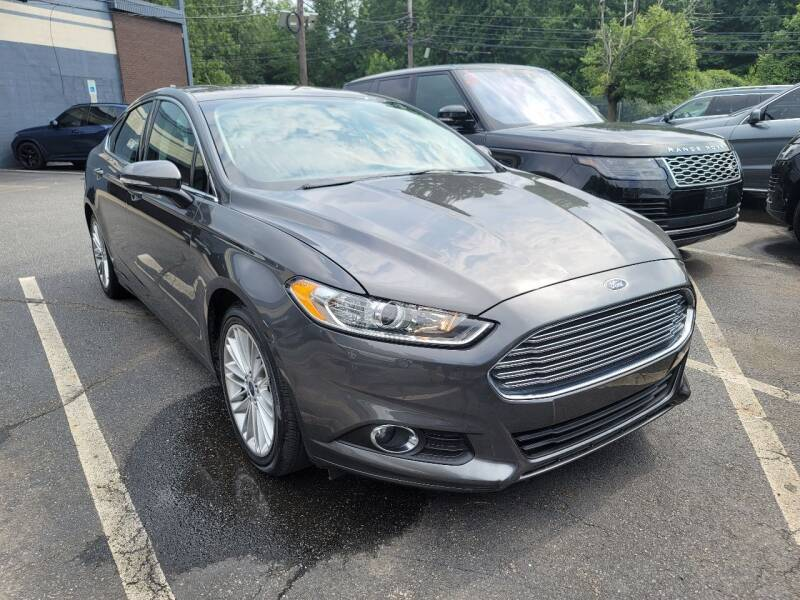 2016 Ford Fusion for sale at AW Auto & Truck Wholesalers  Inc. in Hasbrouck Heights NJ