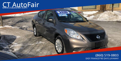 2013 Nissan Versa for sale at CT AutoFair in West Hartford CT