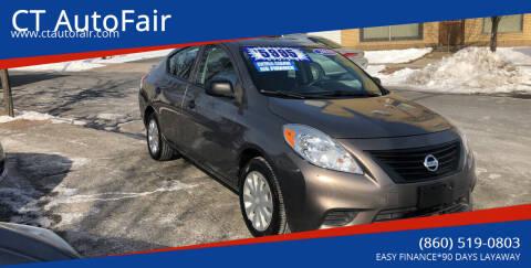 2013 Nissan Versa for sale at CT AutoFair in West Hartford CT