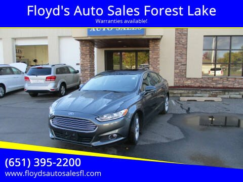 2015 Ford Fusion for sale at Floyd's Auto Sales Forest Lake in Forest Lake MN