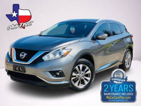 2015 Nissan Murano for sale at AUTO DIRECT in Houston TX