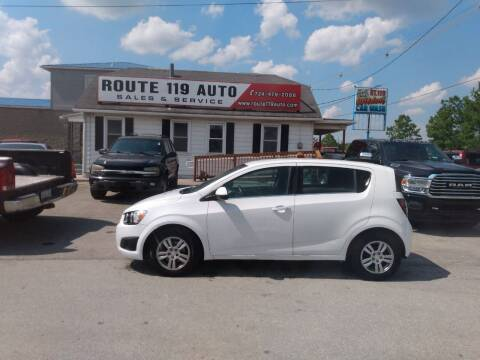2015 Chevrolet Sonic for sale at ROUTE 119 AUTO SALES & SVC in Homer City PA