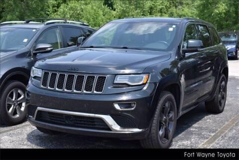 2016 Jeep Grand Cherokee for sale at BOB ROHRMAN FORT WAYNE TOYOTA in Fort Wayne IN