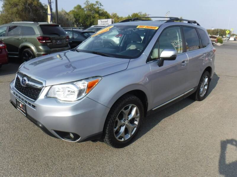 2015 Subaru Forester for sale at Budget Auto Sales in Carson City NV