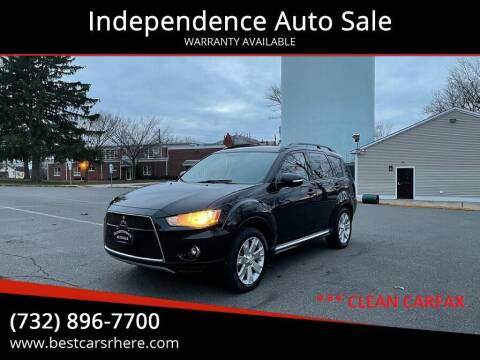 2011 Mitsubishi Outlander for sale at Independence Auto Sale in Bordentown NJ