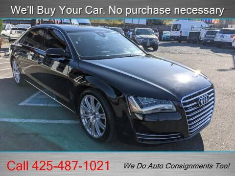 2013 Audi A8 L for sale at Platinum Autos in Woodinville WA