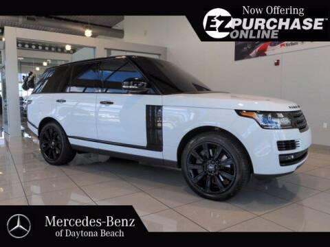 2017 Land Rover Range Rover for sale at Mercedes-Benz of Daytona Beach in Daytona Beach FL