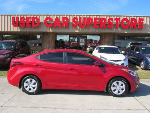 2016 Hyundai Elantra for sale at Checkered Flag Auto Sales NORTH in Lakeland FL