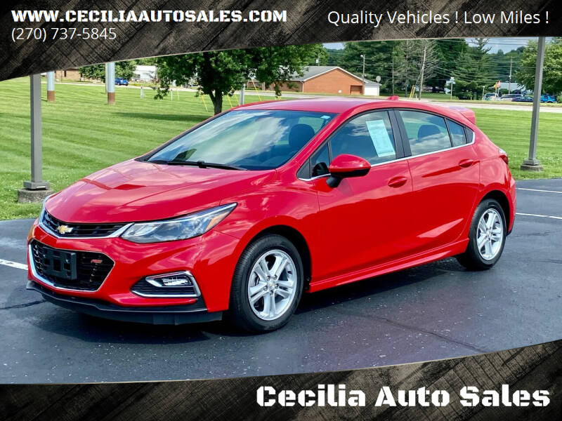 2017 Chevrolet Cruze for sale at Cecilia Auto Sales in Elizabethtown KY